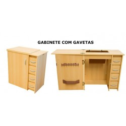 Gabinete Luxo Gaveta Lateral Luxo Rio Verde