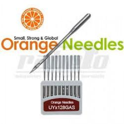 Agulha Orange Galoneira UYx128 Nº 10