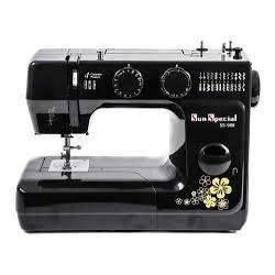 Máquina de Costura Doméstica Marca Sun Special Modelo SS 988 Black